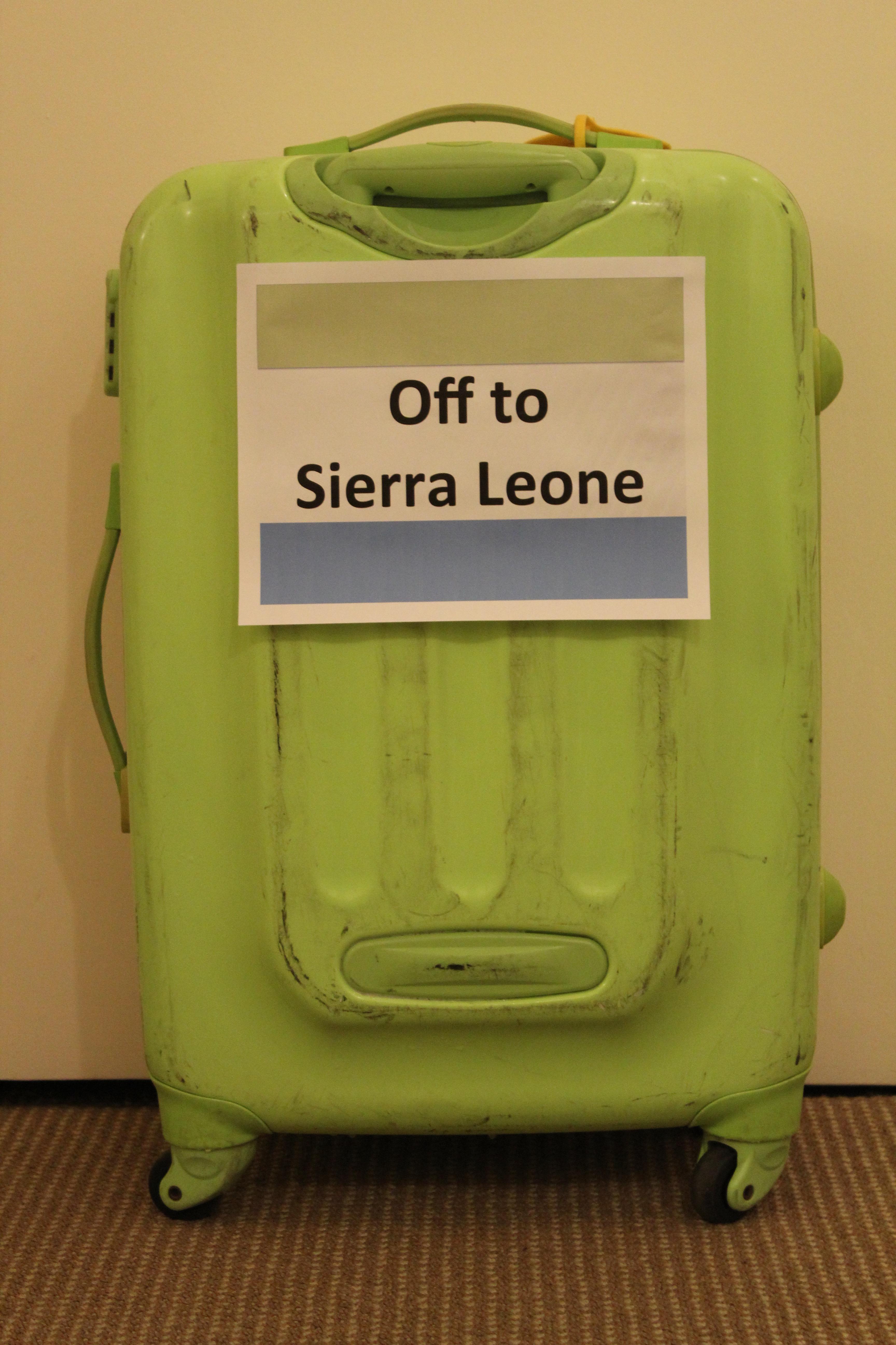 Green Suitcase Sierra Leone